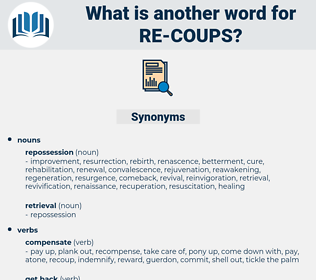 re coups, synonym re coups, another word for re coups, words like re coups, thesaurus re coups