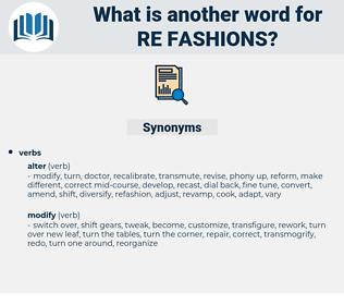 re fashions, synonym re fashions, another word for re fashions, words like re fashions, thesaurus re fashions