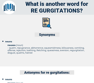 re-gurgitations, synonym re-gurgitations, another word for re-gurgitations, words like re-gurgitations, thesaurus re-gurgitations