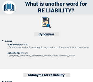 re-liability, synonym re-liability, another word for re-liability, words like re-liability, thesaurus re-liability