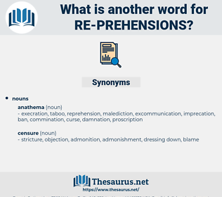 re prehensions, synonym re prehensions, another word for re prehensions, words like re prehensions, thesaurus re prehensions