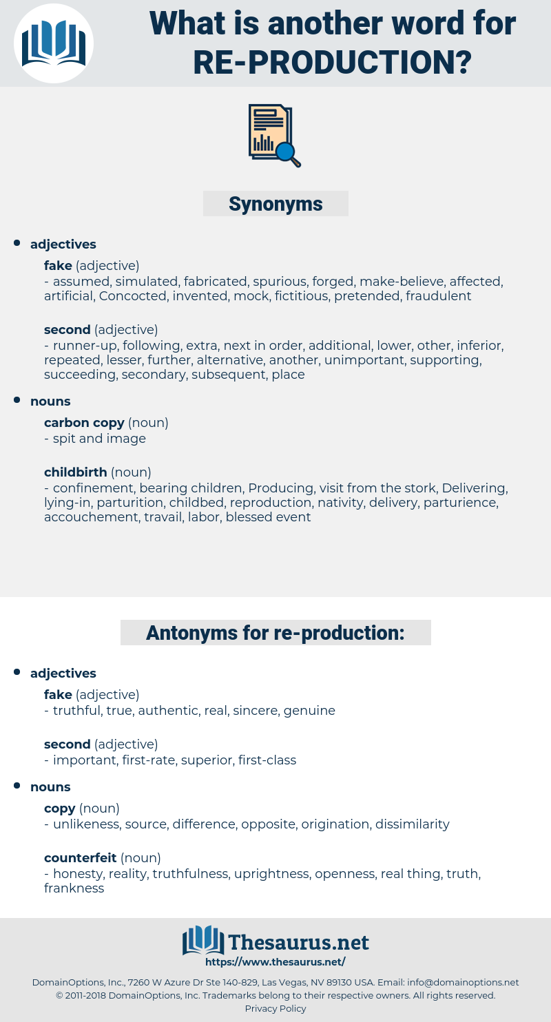 re production, synonym re production, another word for re production, words like re production, thesaurus re production