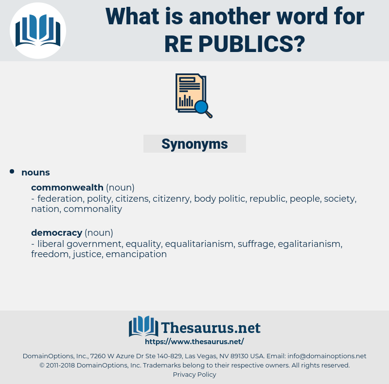 re-publics, synonym re-publics, another word for re-publics, words like re-publics, thesaurus re-publics