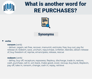 re-purchases, synonym re-purchases, another word for re-purchases, words like re-purchases, thesaurus re-purchases