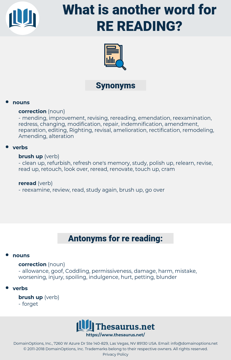 re reading, synonym re reading, another word for re reading, words like re reading, thesaurus re reading