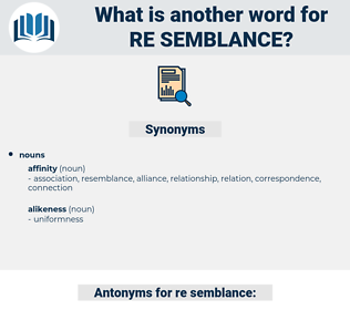 re semblance, synonym re semblance, another word for re semblance, words like re semblance, thesaurus re semblance