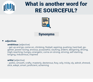 re sourceful, synonym re sourceful, another word for re sourceful, words like re sourceful, thesaurus re sourceful