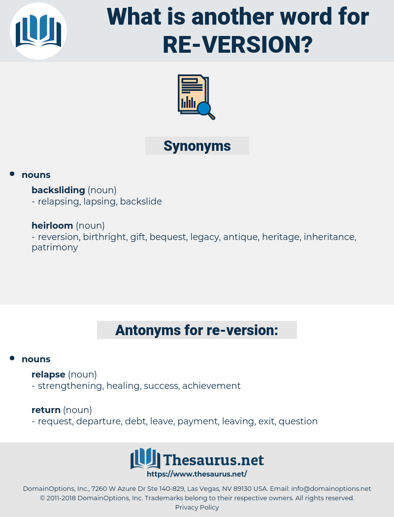 re-version, synonym re-version, another word for re-version, words like re-version, thesaurus re-version