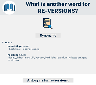re versions, synonym re versions, another word for re versions, words like re versions, thesaurus re versions