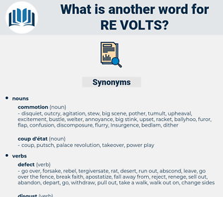 re volts, synonym re volts, another word for re volts, words like re volts, thesaurus re volts