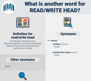 read/write head, synonym read/write head, another word for read/write head, words like read/write head, thesaurus read/write head