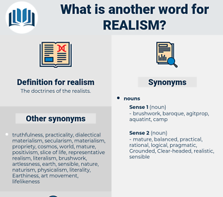 realism, synonym realism, another word for realism, words like realism, thesaurus realism