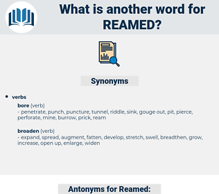 Reamed, synonym Reamed, another word for Reamed, words like Reamed, thesaurus Reamed