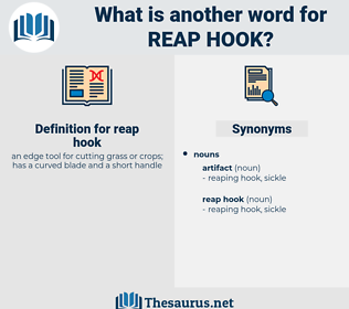 reap hook, synonym reap hook, another word for reap hook, words like reap hook, thesaurus reap hook