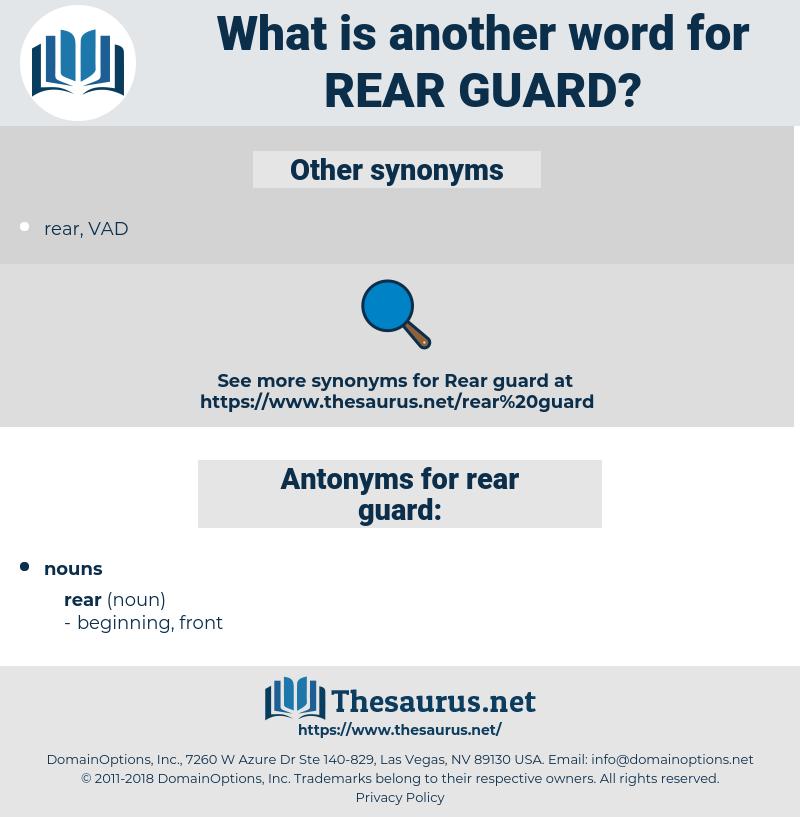 rear guard, synonym rear guard, another word for rear guard, words like rear guard, thesaurus rear guard