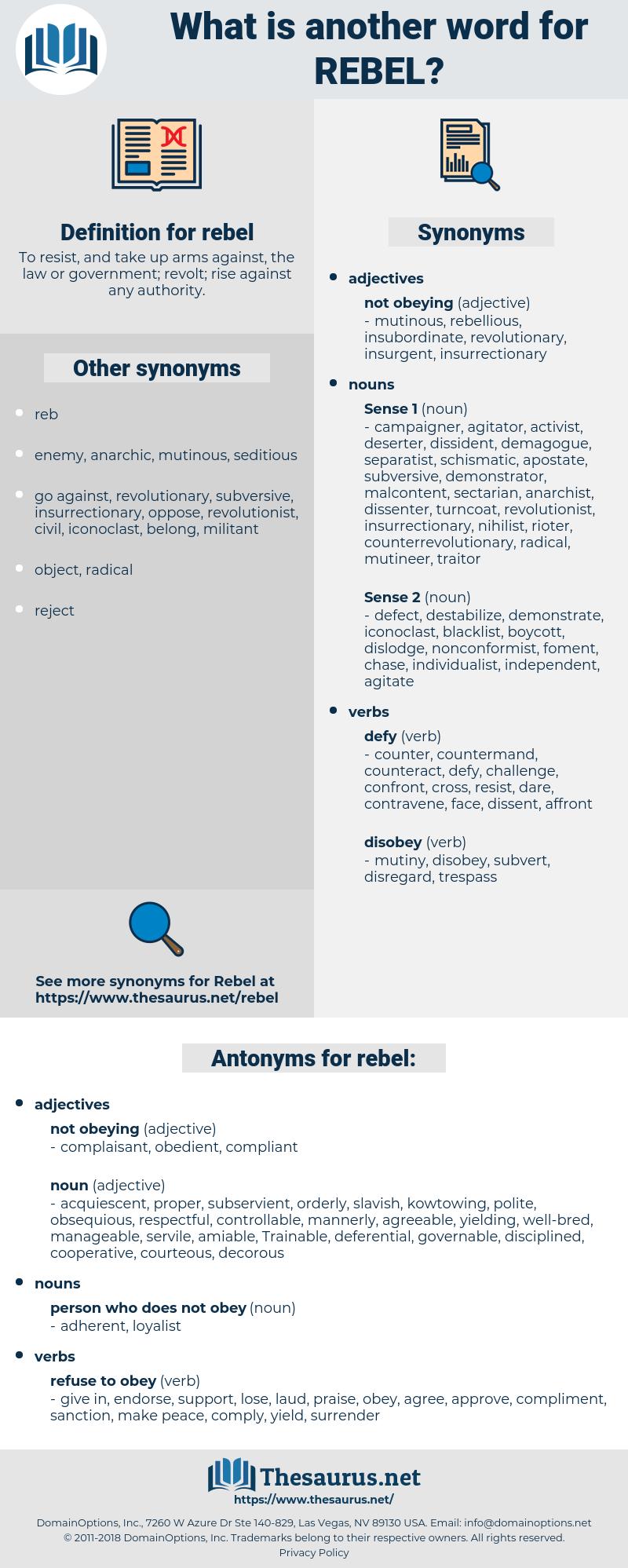 rebel, synonym rebel, another word for rebel, words like rebel, thesaurus rebel