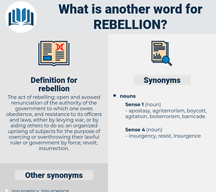 rebellion, synonym rebellion, another word for rebellion, words like rebellion, thesaurus rebellion
