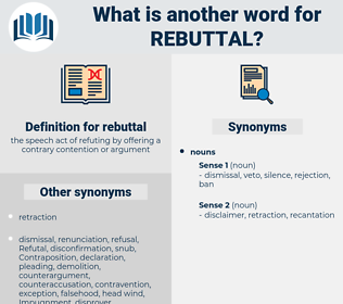 rebuttal, synonym rebuttal, another word for rebuttal, words like rebuttal, thesaurus rebuttal