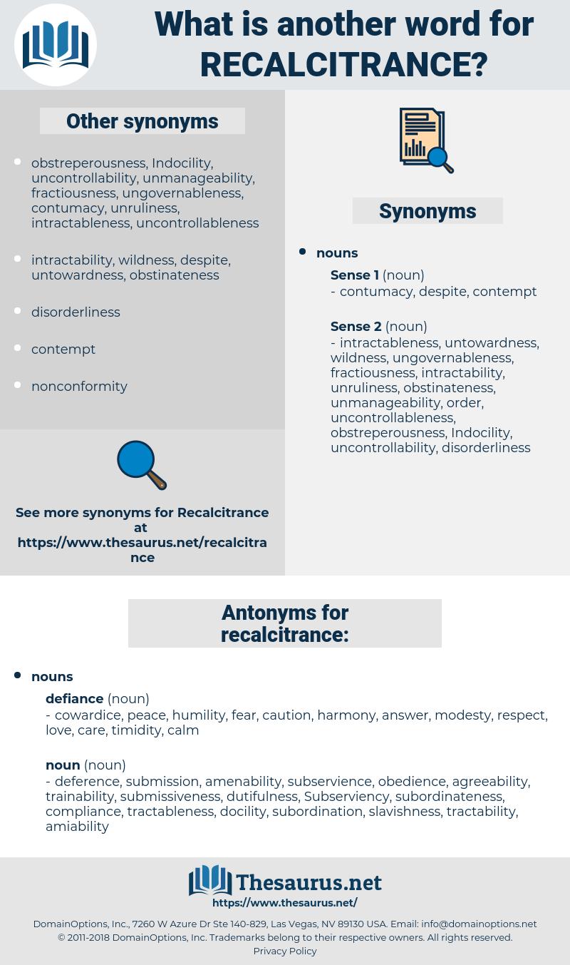 recalcitrance, synonym recalcitrance, another word for recalcitrance, words like recalcitrance, thesaurus recalcitrance