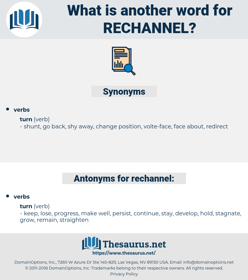 rechannel, synonym rechannel, another word for rechannel, words like rechannel, thesaurus rechannel