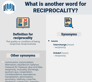 reciprocality, synonym reciprocality, another word for reciprocality, words like reciprocality, thesaurus reciprocality