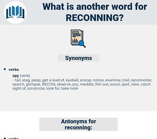 reconning, synonym reconning, another word for reconning, words like reconning, thesaurus reconning