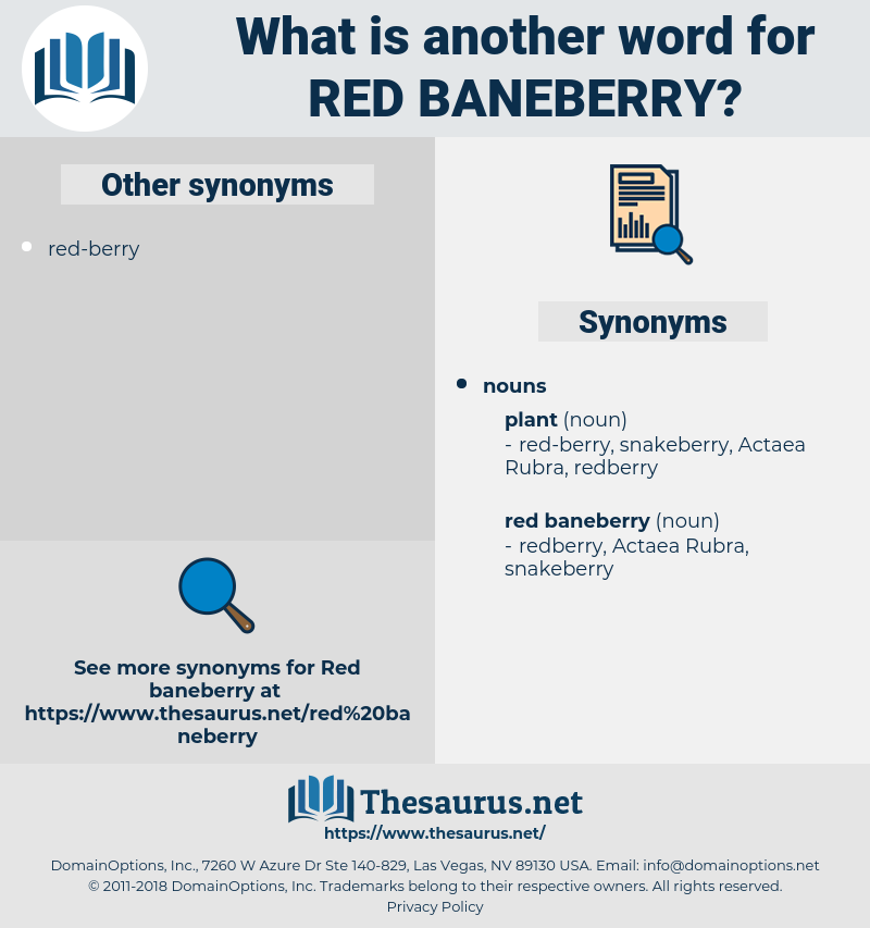 red baneberry, synonym red baneberry, another word for red baneberry, words like red baneberry, thesaurus red baneberry