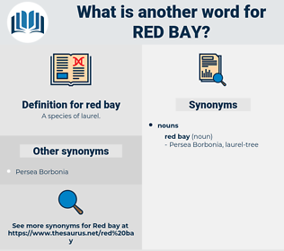 red bay, synonym red bay, another word for red bay, words like red bay, thesaurus red bay