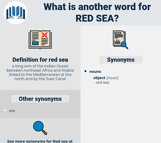 red sea, synonym red sea, another word for red sea, words like red sea, thesaurus red sea