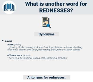 rednesses, synonym rednesses, another word for rednesses, words like rednesses, thesaurus rednesses