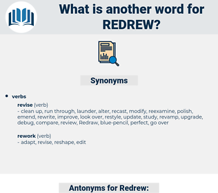 Redrew, synonym Redrew, another word for Redrew, words like Redrew, thesaurus Redrew