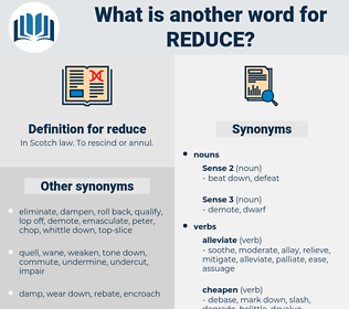 reduce, synonym reduce, another word for reduce, words like reduce, thesaurus reduce