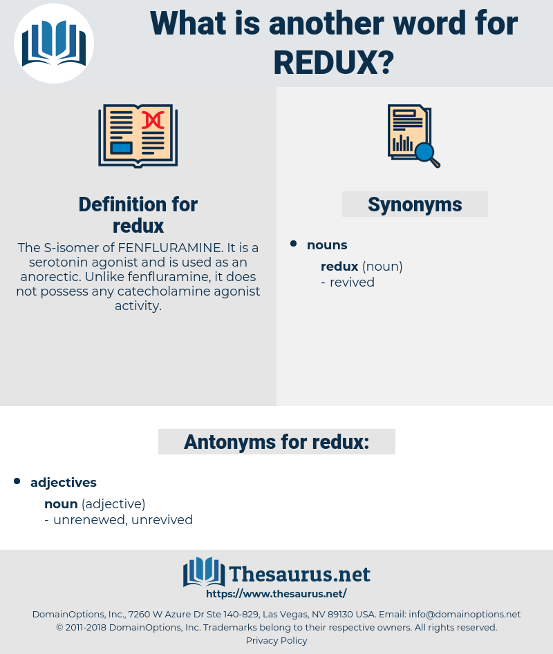 redux, synonym redux, another word for redux, words like redux, thesaurus redux