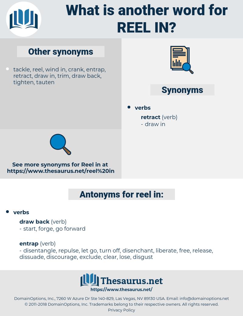 reel in, synonym reel in, another word for reel in, words like reel in, thesaurus reel in