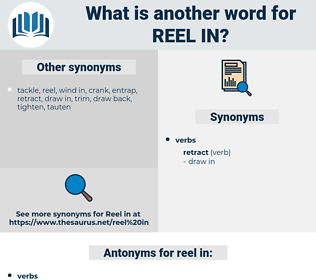 reel in, synonym reel in, another word for reel in, words like reel in, thesaurus reel in