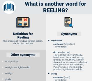 Reeling, synonym Reeling, another word for Reeling, words like Reeling, thesaurus Reeling
