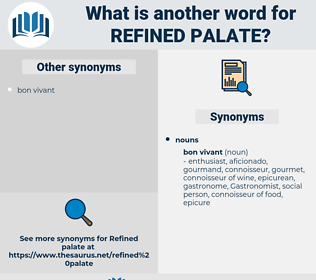 refined palate, synonym refined palate, another word for refined palate, words like refined palate, thesaurus refined palate