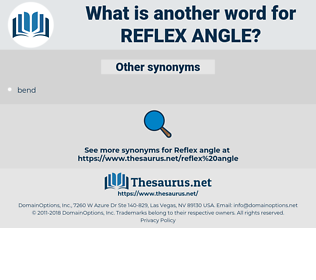 reflex angle, synonym reflex angle, another word for reflex angle, words like reflex angle, thesaurus reflex angle