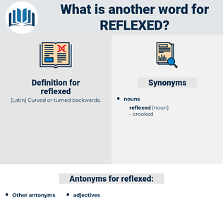 reflexed, synonym reflexed, another word for reflexed, words like reflexed, thesaurus reflexed