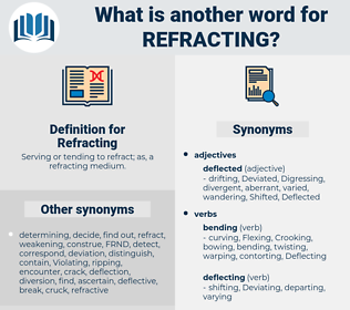 Refracting, synonym Refracting, another word for Refracting, words like Refracting, thesaurus Refracting