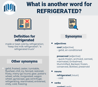 refrigerated, synonym refrigerated, another word for refrigerated, words like refrigerated, thesaurus refrigerated