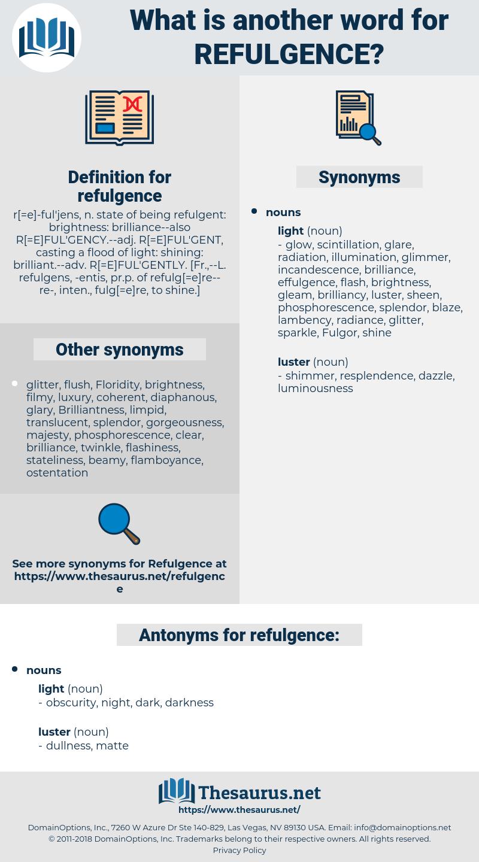 refulgence, synonym refulgence, another word for refulgence, words like refulgence, thesaurus refulgence