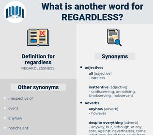regardless, synonym regardless, another word for regardless, words like regardless, thesaurus regardless