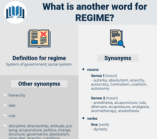 regime, synonym regime, another word for regime, words like regime, thesaurus regime