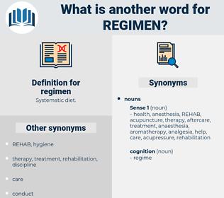 regimen, synonym regimen, another word for regimen, words like regimen, thesaurus regimen