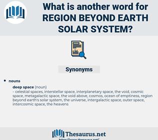 region beyond earth solar system, synonym region beyond earth solar system, another word for region beyond earth solar system, words like region beyond earth solar system, thesaurus region beyond earth solar system
