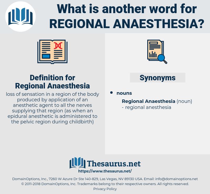 Regional Anaesthesia, synonym Regional Anaesthesia, another word for Regional Anaesthesia, words like Regional Anaesthesia, thesaurus Regional Anaesthesia