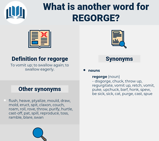regorge, synonym regorge, another word for regorge, words like regorge, thesaurus regorge