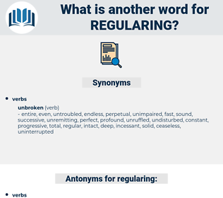 regularing, synonym regularing, another word for regularing, words like regularing, thesaurus regularing