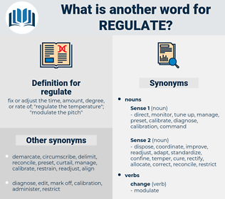 regulate, synonym regulate, another word for regulate, words like regulate, thesaurus regulate